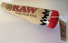 Buy Dooby's X RAW Rolling papers DOG/PUPPY TOY! Unbleached HEMP CONE SQUEAKY TOY