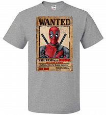 Buy Deadpool Wanted Poster Youth Unisex T-Shirt Pop Culture Graphic Tee (Youth L/Athletic