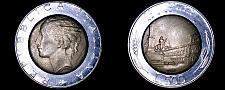 Buy 1989 Italian 500 Lire World Coin - Italy