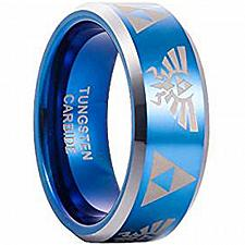 Buy coi Jewelry Tungsten Carbide Legend of Zelda Ring