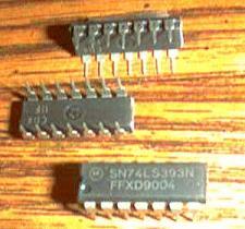 Buy Lot of 25: Motorola SN74LS393N