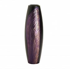 Buy *16036U - Orchid Wing Purple & Black Decorative Wood Accent Vase
