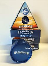 """Buy Elements Cigarette Rolling Papers 2PC GRINDER LARGE 62MM/ 2.4"""" SIZE Magnetic"""