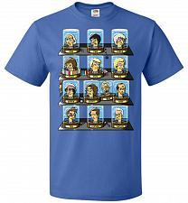 Buy Regen_O_Rama Unisex T-Shirt Pop Culture Graphic Tee (2XL/Royal) Humor Funny Nerdy Gee