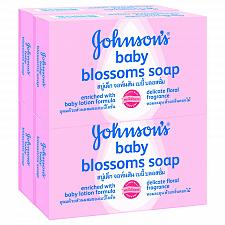 Buy Johnson's Baby Blossoms Soap 75 grams Pack of 4