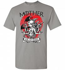 Buy Mother of Dragons Unisex T-Shirt Pop Culture Graphic Tee (M/Gravel) Humor Funny Nerdy