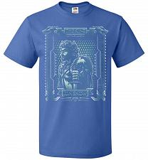 Buy Jon Snow King Of The North Adult Unisex T-Shirt Pop Culture Graphic Tee (5XL/Royal) H