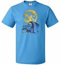 Buy Hocus Pocus Halloween Unisex T-Shirt Pop Culture Graphic Tee (XL/Pacific Blue) Humor