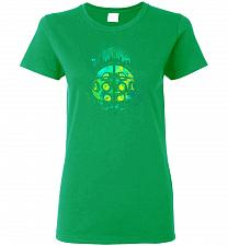 Buy Face Of Rapture Unisex T-Shirt Pop Culture Graphic Tee (2XL/Irish Green) Humor Funny