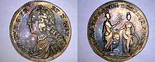 Buy ND c.1750 Louis XV Jeton PACIS FIRMANDAE EREPTUM PIGNUS - FEU-13223 - Toned