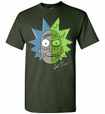 Buy Get Toxic Rick and Morty Unisex T-Shirt Pop Culture Graphic Tee (5XL/Forest Green) Hu