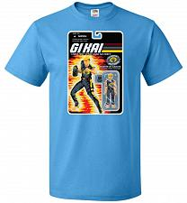 Buy GI KAI Unisex T-Shirt Pop Culture Graphic Tee (3XL/Pacific Blue) Humor Funny Nerdy Ge