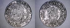 Buy 1541-KB Hungary 1 Denar World Silver Coin - Madonna with Child - Ferdinand I