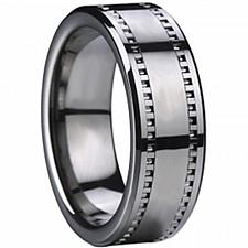 Buy coi Jewelry Tungsten Carbide Ring-TG2468(US7)