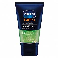 Buy Vaseline Men Active Bright Acne Expert Gel Wash 100 grams