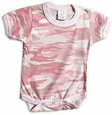Buy One Piece Pink Camo Army Law Enforcement Military Infant Bodysuit
