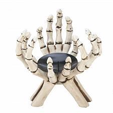 Buy *17192U - Skeleton Hands Pillar Pedestal Candle Stand
