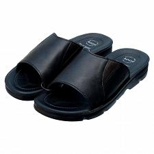 Buy ADDA Men's Slides Sandals Flip Flops Open Toe Black Size US 10, EU 43, UK 9