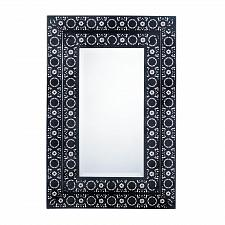 Buy *17080U - Moroccan Style Black Iron Rectangle Wall Mirror