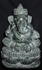 Buy RARE ANTIQUE Burmese carved Jade Sitting Ganesh 17 cm tall Beautiful Rare