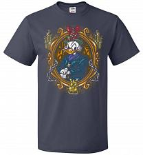 Buy Scrooge McDuck A Miserly Portrait Adult Unisex T-Shirt Pop Culture Graphic Tee (L/J N