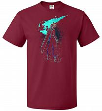 Buy Shadow Of The Meteor Unisex T-Shirt Pop Culture Graphic Tee (M/Cardinal) Humor Funny