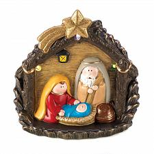 Buy 15033U - LED Light Ceramic Nativity Holiday Figurine