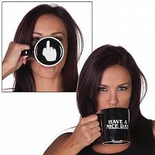 Buy Vansaile Have A Nice Day Mittelfinger Keramiktasse Kaffeetasse Lustig Klappe Ab