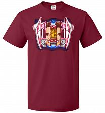 Buy Pink Ranger Unisex T-Shirt Pop Culture Graphic Tee (2XL/Cardinal) Humor Funny Nerdy G