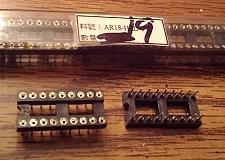 Buy Lot of 19: Assmann AR18-HZL-TT 18 POS IC DIP SOCKET