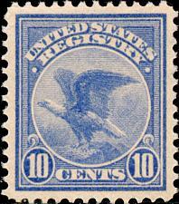 Buy 1911 10c Registration Stamp, Ultramarine Scott F1 Mint F/VF NH