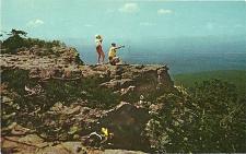 Buy Lovers Leap Mount Magazine Mountain Arkansas Postcard
