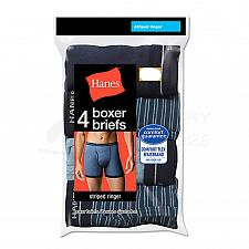 Buy 8 Pair Hanes Mens Ringer Boxer Brief Comfort Flex Waistband #7347P4 2XL