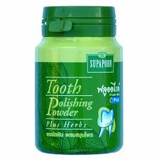 Buy Supaporn Herbal Tooth Polishing Powder with Herbs and Fluoride 90 grams