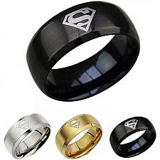 Buy coi Jewelry Tungsten Carbide SuperMan Wedding Band Ring