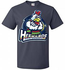 Buy Hermanos New Mexico Unisex T-Shirt Pop Culture Graphic Tee (S/J Navy) Humor Funny Ner