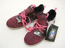 Buy Flashlight Girls Rechargeable LED Lightweight Athletic Shoe Size 5 Black Pink