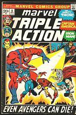 Buy MARVEL TRIPLE ACTION COMICS #8 Thor Hulk IronMan Capt.America Giant-ManAVENGERS