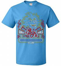 Buy Bjs Gentleghost's Club Adult Unisex T-Shirt Pop Culture Graphic Tee (S/Pacific Blue)