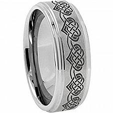 Buy coi Jewelry Tungsten Carbide Heart Wedding Band Ring
