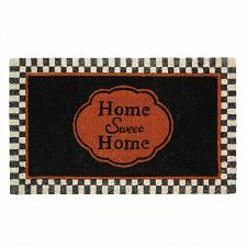 "Buy *17675U - Home Sweet Home Entry Way Rubber & Coir 30"" Door Mat Rug"