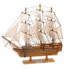 Buy D1296U - HMS Victory Ship Wood & Canvas Model Figure