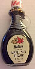 Buy NEW Vintage JR Watkins 2 oz Maple Nut Extract in Glass Bottle with Handle NOS
