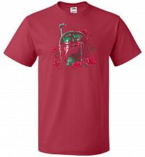Buy Phantom Of The Empire Fett Unisex T-Shirt Pop Culture Graphic Tee (2XL/True Red) Humo