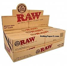 "Buy Display Box of SIX - RAW Unrefined Parchment Paper for Baking/Wrapping 12"" x 32'"