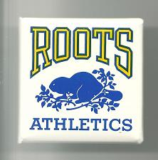 Buy Vintage Roots Athletics Collectible Pinback Button Pin