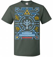 Buy Legend Of Zelda Ugly Sweater Design Adult Unisex T-Shirt Pop Culture Graphic Tee (M/F