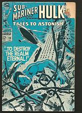 Buy Tales To Astonish #98 Hulk Sub-Mariner Marvel Comics 1967 SILVER AGE M. Severin