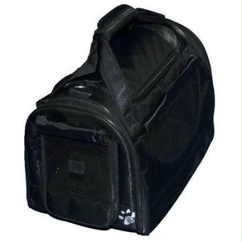 Pet Gear World Traveler Pet Carrier with Wheels Small Black Diamond