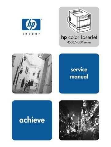 Hewlett Packard CLJ4550 20 20 Service Manual by download #155223